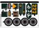 Part No: 70434stk01  Name: Sticker Sheet for Set 70434 (68993/6309166)