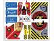 Part No: 70596stk01  Name: Sticker for Set 70596 - Sheet 1 (26326/6147788)