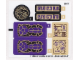 Part No: 70749stk01a  Name: Sticker Sheet for Set 70749 - International Version - (19566/6100358)