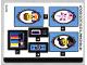 Part No: 70831stk01  Name: Sticker Sheet for Set 70831 - (48070/6254867)