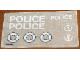 Part No: 709stk01  Name: Sticker for Set 709 - Sheet 1 (004646)