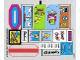 Part No: 71006stk01  Name: Sticker for Set 71006 - (16829/6063899)