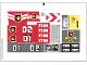 Part No: 7208stk01  Name: Sticker Sheet for Set 7208 - (89440/4578175)