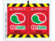 Part No: 7244stk02  Name: Sticker for Set 7244 - Sheet 2 (52688/4260952)