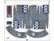Part No: 75041stk01  Name: Sticker Sheet for Set 75041 - (16342/6058336)