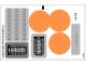 Part No: 75050stk01  Name: Sticker Sheet for Set 75050 - (17591/6074047)