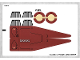 Part No: 75051stk01b  Name: Sticker for Set 75051 - North American Version - (17622/6074577)