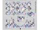Part No: 7581stk01  Name: Sticker Sheet for Set 7581 - (54771/4284952)
