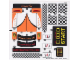 Part No: 75912stk02  Name: Sticker Sheet for Set 75912 Sheet 2 - (20852/6109690)