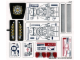 Part No: 76007stk01  Name: Sticker Sheet for Set 76007 - (14648/6042677)