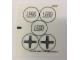 Part No: 76039stk01b  Name: Sticker for Set 76039 - Transparent Background Version - (21424/6116447)