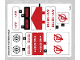 Part No: 76049stk01  Name: Sticker for Set 76049 - (25739/6142588)