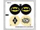 Part No: 76053stk01b  Name: Sticker Sheet for Set 76053 - North American Version - (26146/6145905)
