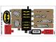 Part No: 76054stk01a  Name: Sticker Sheet for Set 76054 - International Version - (27018/6154287)