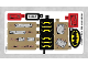 Part No: 76054stk01b  Name: Sticker for Set 76054 - North American Version - (27019/6154288)