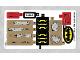 Part No: 76054stk01b  Name: Sticker Sheet for Set 76054 - North American Version - (27019/6154288)