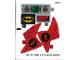 Part No: 76055stk01a  Name: Sticker Sheet for Set 76055 - International Version - (27072/6155182)
