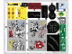 Part No: 76057stk01b  Name: Sticker Sheet for Set 76057 - North American Version - (27076/6155193)