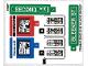 Part No: 76058stk01a  Name: Sticker Sheet for Set 76058 - International Version - (27064/6155023)
