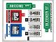 Part No: 76058stk01b  Name: Sticker Sheet for Set 76058 - North American Version - (27065/6155025)