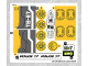 Part No: 76059stk01b  Name: Sticker for Set 76059 - North American Version - (27071/6155067)