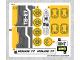 Part No: 76059stk01b  Name: Sticker Sheet for Set 76059 - North American Version - (27071/6155067)