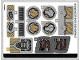 Part No: 76099stk01  Name: Sticker Sheet for Set 76099 - (37402/6218033)