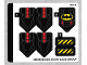 Part No: 76116stk01  Name: Sticker Sheet for Set 76116 - (46084/6254363)