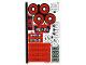 Part No: 76174stk01  Name: Sticker Sheet for Set 76174 - (74527/6329786)