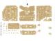 Part No: 7621stk01  Name: Sticker Sheet for Set 7621 - (62505/4523181)