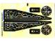 Part No: 7645stk02  Name: Sticker Sheet for Set 7645 - Sheet 2 (63495/4529044)