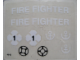 Part No: 775stk01  Name: Sticker Sheet for Set 775 - (4645)