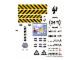 Part No: 7775stk01  Name: Sticker Sheet for Set 7775 - (58840/4501861)