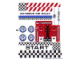 Part No: 8124stk01  Name: Sticker Sheet for Set 8124 - Sheet 1 (64976/4540226)