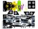 Part No: 8161stk02  Name: Sticker Sheet for Set 8161 - Sheet 2 (63086/4527349)