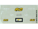 Part No: 8210stk01  Name: Sticker Sheet for Set 8210 - (169725)