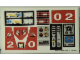 Part No: 8280stk01  Name: Sticker Sheet for Set 8280 - (169735)