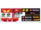 Part No: 8440stk01  Name: Sticker Sheet for Set 8440 - (169795)