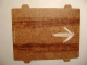 Part No: 8496cdb01  Name: Paper, Cardboard Ramp with Tire Tracks and White Chalk Arrow for Set 8496 (62847)