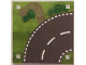 Part No: 853840cdb01  Name: Paper, Playmat Road, Double-Sided, Curved/T-Junction (853840)
