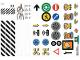 Part No: 853921stk05  Name: Sticker Sheet for Set 853921 - Sheet 5 (853921/6255894)