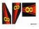 Part No: 8818stk01  Name: Sticker for Set 8818 - (821412)