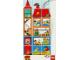 Part No: 9221home  Name: Paper, Duplo Mosaic Picture Puzzle Key Card from Set 9221 - Home