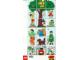 Part No: 9221park  Name: Paper, Duplo Mosaic Picture Puzzle Key Card from Set 9221 - Park