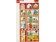 Part No: 9221town  Name: Paper, Duplo Mosaic Picture Puzzle Key Card from Set 9221 - Town