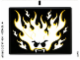 Part No: 9464stk01a  Name: Sticker Sheet for Set 9464 - Glow In Dark Version - (10755/6006381)