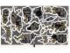Part No: 9468stk01b  Name: Sticker Sheet for Set 9468 - Dark Tan Leaves / Red Eyes Version - (6032222/13742)