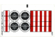 Part No: 9493stk01  Name: Sticker Sheet for Set 9493 - (71920/4654778)