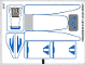 Part No: 9525stk01  Name: Sticker Sheet for Set 9525 - (10989/6009300)