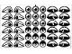 Part No: 9732stk01  Name: Sticker for Set 9732 - (72047/4112924)